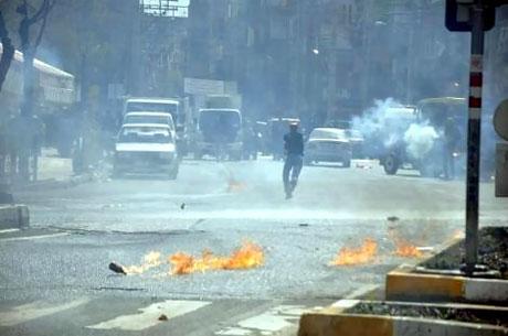 Diyarbakır 'sivil cuma' sonrası karıştı! galerisi resim 5