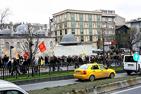 YSK vetosu'na her yerde protesto var! galerisi resim 26