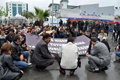 YSK vetosu'na her yerde protesto var! galerisi resim 43