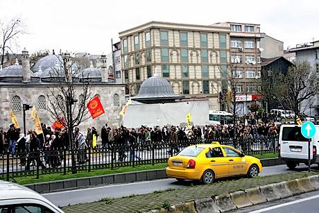 YSK vetosu'na her yerde protesto var! galerisi resim 62