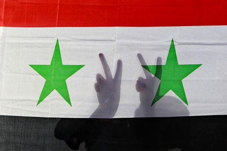 Suriye'de gösteriler büyüyor galerisi resim 12