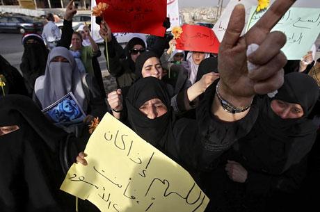 Suriye'de gösteriler büyüyor galerisi resim 13