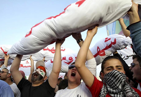 Suriye'de gösteriler büyüyor galerisi resim 19