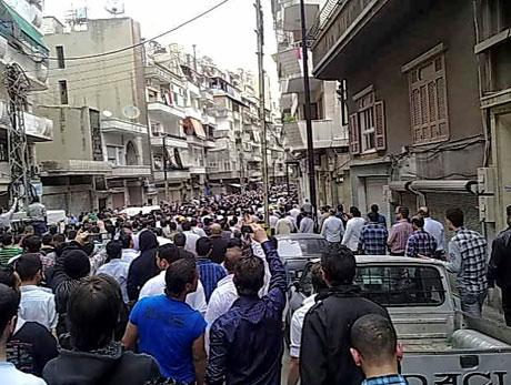 Suriye'de gösteriler büyüyor galerisi resim 21