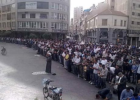 Suriye'de gösteriler büyüyor galerisi resim 24