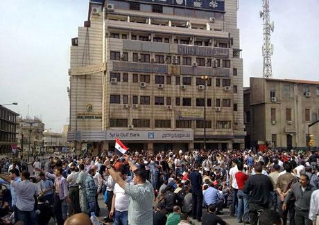 Suriye'de gösteriler büyüyor galerisi resim 25