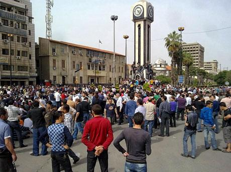 Suriye'de gösteriler büyüyor galerisi resim 26
