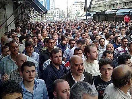 Suriye'de gösteriler büyüyor galerisi resim 27