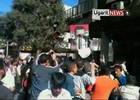 Suriye'de gösteriler büyüyor galerisi resim 3