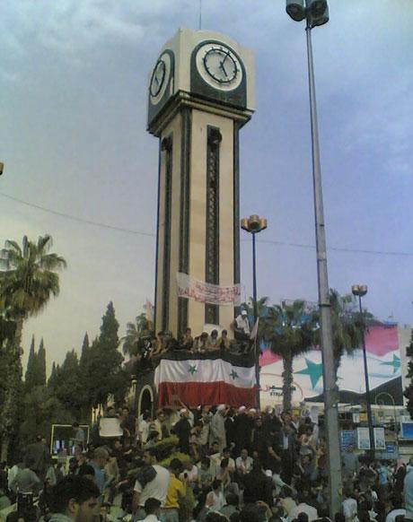 Suriye'de gösteriler büyüyor galerisi resim 30