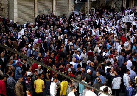 Suriye'de gösteriler büyüyor galerisi resim 4