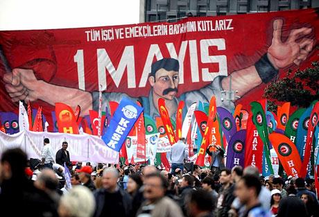 Taksim 1 Mayıs'ta çiçek açtı galerisi resim 15