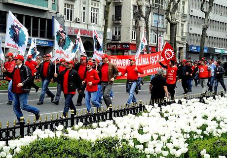 Taksim 1 Mayıs'ta çiçek açtı galerisi resim 16