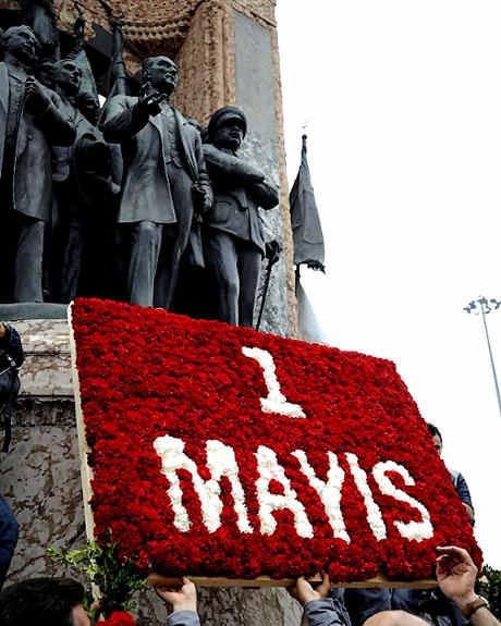 Taksim 1 Mayıs'ta çiçek açtı galerisi resim 3