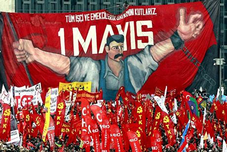 Taksim 1 Mayıs'ta çiçek açtı galerisi resim 30