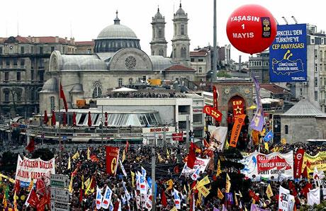 Taksim 1 Mayıs'ta çiçek açtı galerisi resim 31