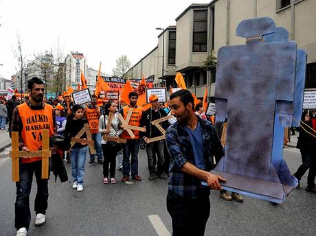 Taksim 1 Mayıs'ta çiçek açtı galerisi resim 48