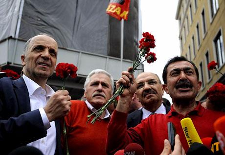 Taksim 1 Mayıs'ta çiçek açtı galerisi resim 5