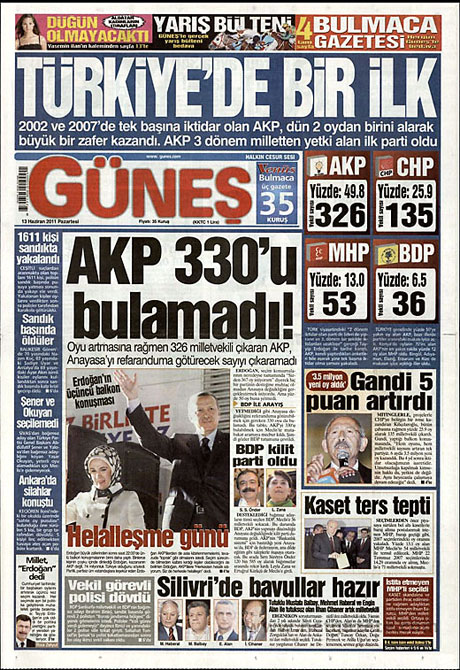 Gazeteler'de Ak Parti zaferi galerisi resim 8