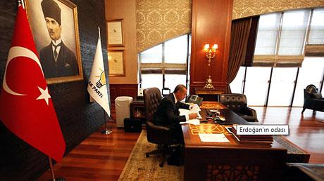 İşte Erdoğan'ın lüks çalışma ofisi galerisi resim 6