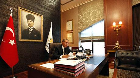 İşte Erdoğan'ın lüks çalışma ofisi galerisi resim 7