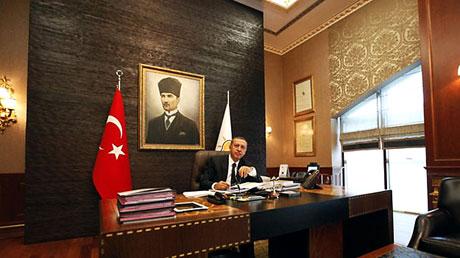 İşte Erdoğan'ın lüks çalışma ofisi galerisi resim 9