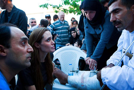 BM Elçisi Angelina Jolie Türkiye'de galerisi resim 11