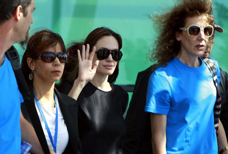 BM Elçisi Angelina Jolie Türkiye'de galerisi resim 15