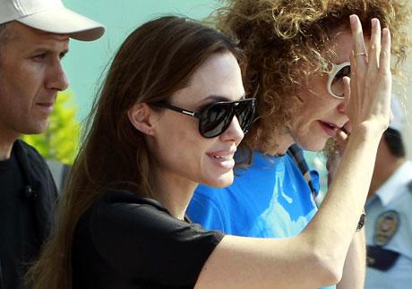 BM Elçisi Angelina Jolie Türkiye'de galerisi resim 18