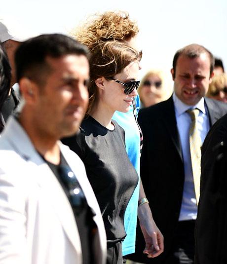 BM Elçisi Angelina Jolie Türkiye'de galerisi resim 19