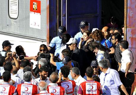 BM Elçisi Angelina Jolie Türkiye'de galerisi resim 20