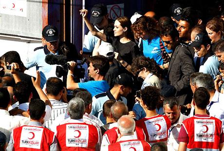 BM Elçisi Angelina Jolie Türkiye'de galerisi resim 27