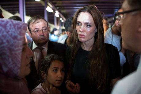 BM Elçisi Angelina Jolie Türkiye'de galerisi resim 8