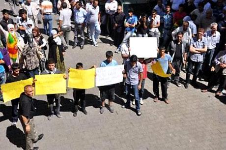 YSK'ya Diyarbakır ve Taksim'de protesto galerisi resim 11