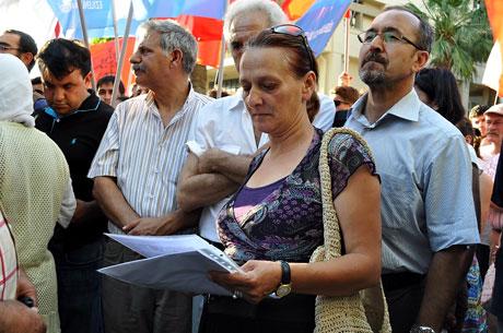 YSK'ya Diyarbakır ve Taksim'de protesto galerisi resim 2