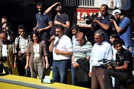 YSK'ya Diyarbakır ve Taksim'de protesto galerisi resim 22