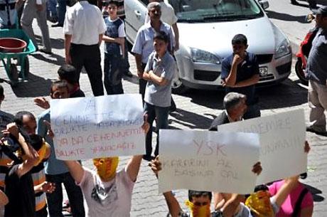 YSK'ya Diyarbakır ve Taksim'de protesto galerisi resim 29