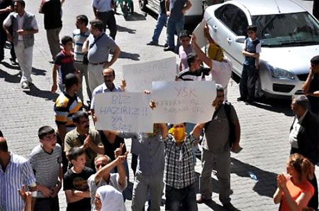 YSK'ya Diyarbakır ve Taksim'de protesto galerisi resim 30