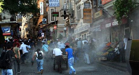 YSK'ya Diyarbakır ve Taksim'de protesto galerisi resim 48