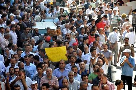 YSK'ya Diyarbakır ve Taksim'de protesto galerisi resim 5