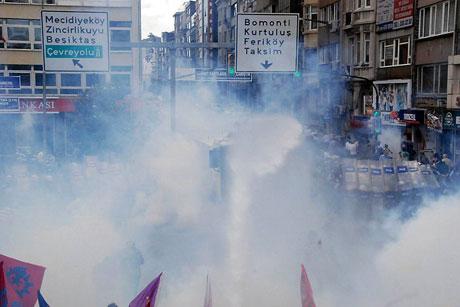 Şişli karıştı, Polisten vekillere biber gazı! galerisi resim 17