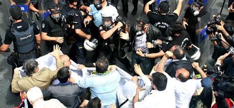 Şişli karıştı, Polisten vekillere biber gazı! galerisi resim 22