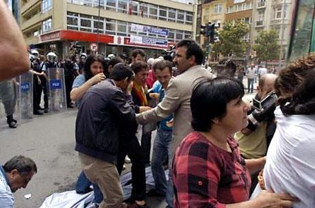 Şişli karıştı, Polisten vekillere biber gazı! galerisi resim 35