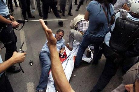 Şişli karıştı, Polisten vekillere biber gazı! galerisi resim 40