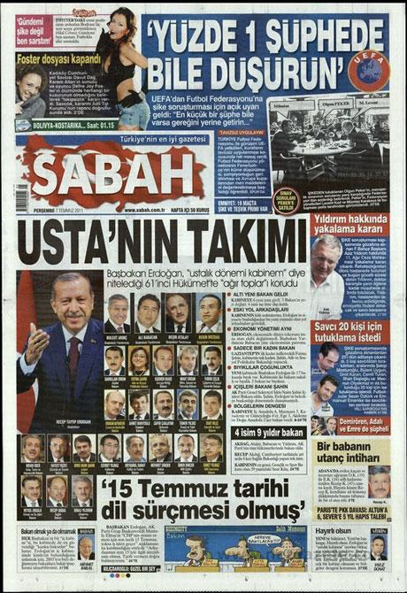 Yeni Kabine manşetlere böyle yansıdı galerisi resim 13