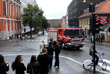 Norveç'in başkenti Oslo cehenneme döndü. galerisi resim 10
