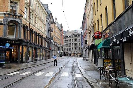 Norveç'in başkenti Oslo cehenneme döndü. galerisi resim 25