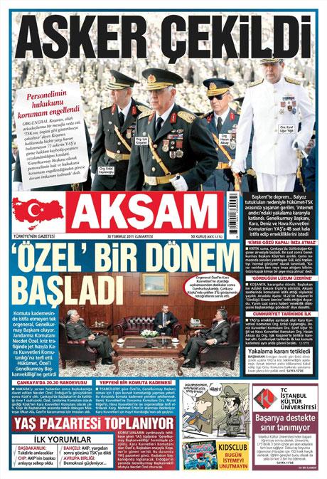 Türk basınında 'İstifa' depremi! galerisi resim 1