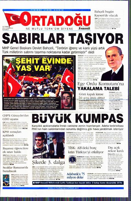 Türk basınında 'İstifa' depremi! galerisi resim 10