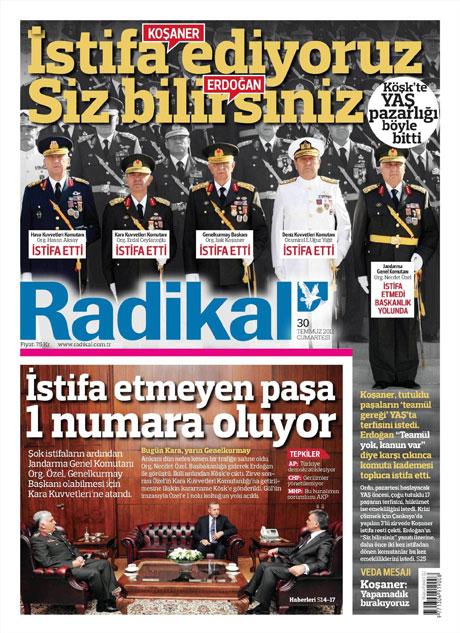 Türk basınında 'İstifa' depremi! galerisi resim 12